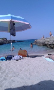 Spiagge isolate